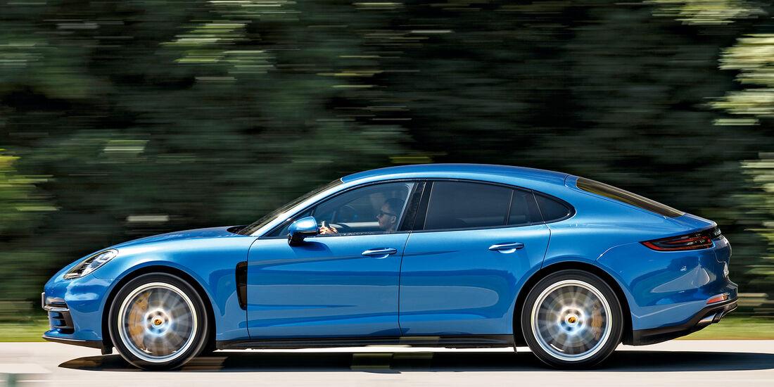 Porsche Panamera 4S, Exterieur
