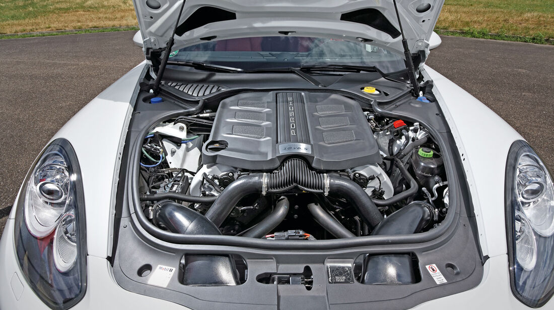 Porsche Panamera 4S, Motor