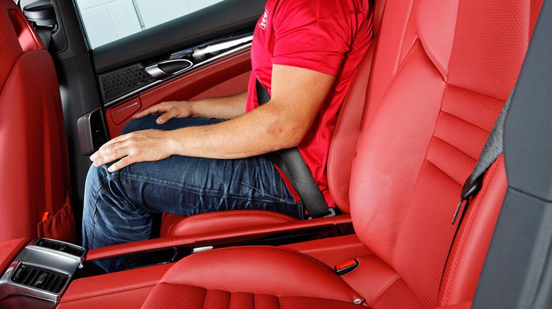 Porsche Panamera 4S, Sitze, Fond