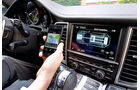 Porsche Panamera, Bordcomputer, Ladestation