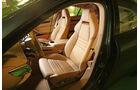 Porsche Panamera Diesel, Fahrersitz