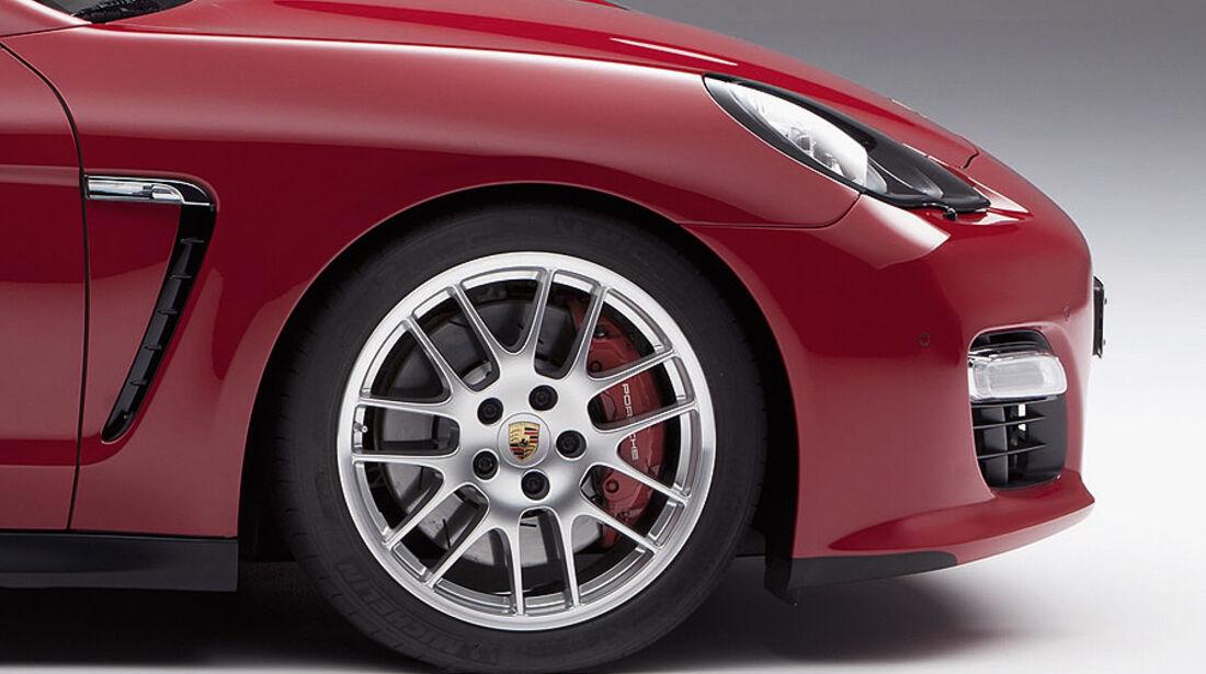 Porsche Panamera GTS, Felge, Bremse