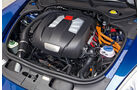 Porsche Panamera S Hybrid, Motor, Motorraum