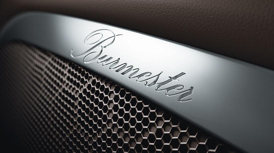 Porsche Panamera-Soundsystem von Burmester