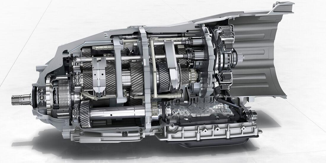 Porsche Panamera Turbo: Achtgang-Doppelkupplungsgetriebe