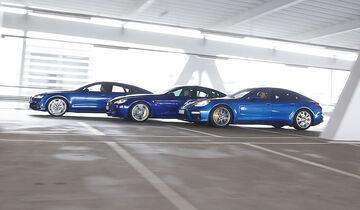 Porsche Panamera Turbo - Audi RS7 Sportback - BMW M6 Gran Coupé -  sport auto 4/2017