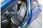 Porsche Panamera Turbo, Fahrersitz