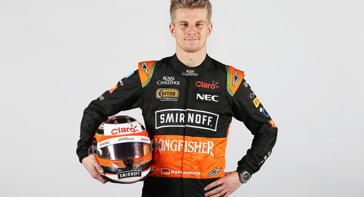 Porträt - Nico Hülkenberg - Force India - 2015