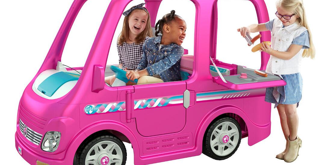 Power Wheels Barbie Dream Camper von Fisher-Price