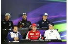 Pressekonferenz - Formel 1 - GP China - Shanghai - 9. April 2015