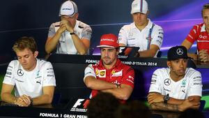 Pressekonferenz - GP Italien 2014