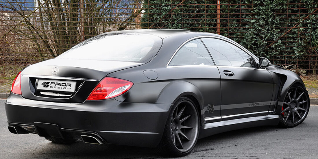 Prior Design Mercedes CL 216 Black Edition