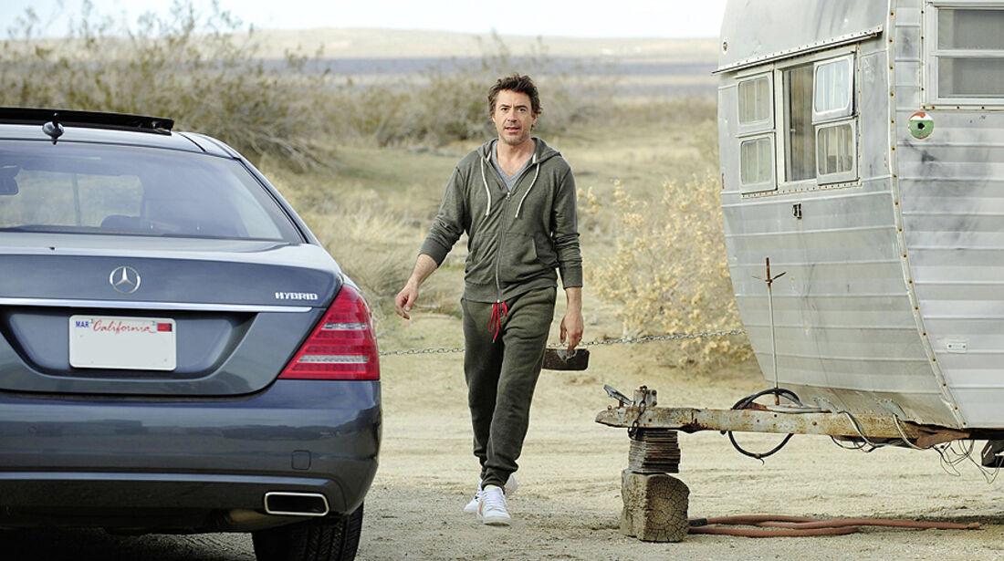 Promi-Autos, Mercedes, Robert Downey jr.