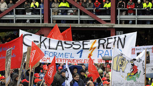 Protest Daimler C-Klasse Streik