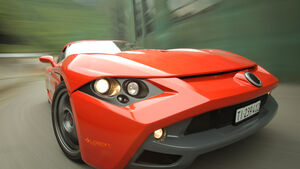 Protoscar Lampo 3, ams1411, Lamborghini, Front, Motorhaube
