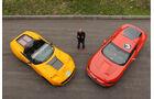 Protoscar Lampo 3, ams1411, Lamborghini, Luftaufnahme, zwei Fahrzeuge