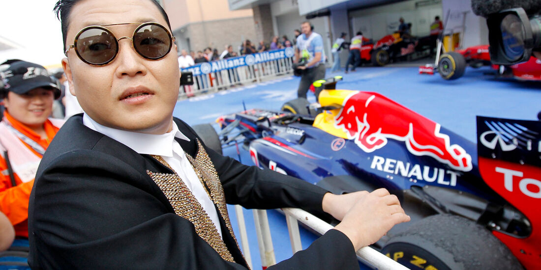 Psy & Red Bull GP Korea 2012
