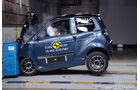Quadricycles & Microcars im EuroNCAP Crashtest