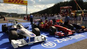 Qualifying GP Belgien
