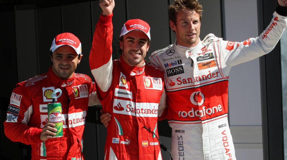 Qualifying GP Italien 2010