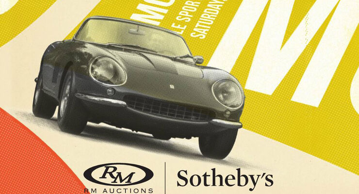 RM Auctions Sotheby's Monaco Sale 2016, Auktion