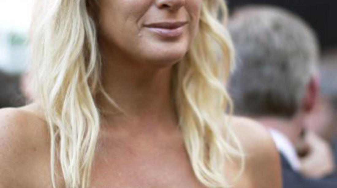 Rachel Hunter beim GP Monaco