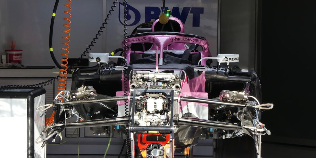 Racing Point Force India - Formel 1 - GP Italien - 29. August 2018