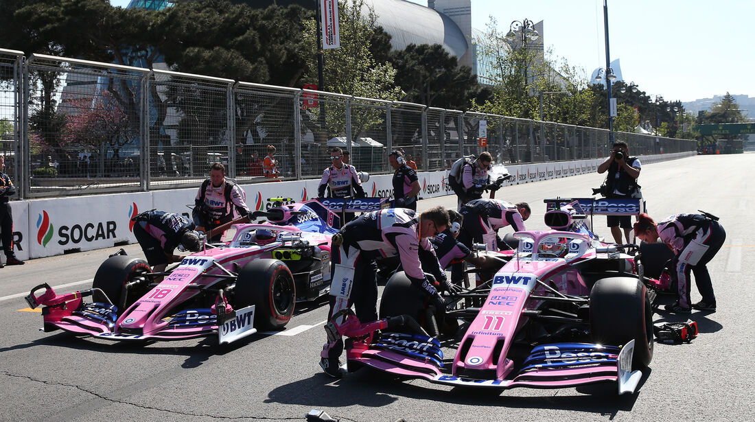 Racing Point - Formel 1 - GP Aserbaidschan 2019