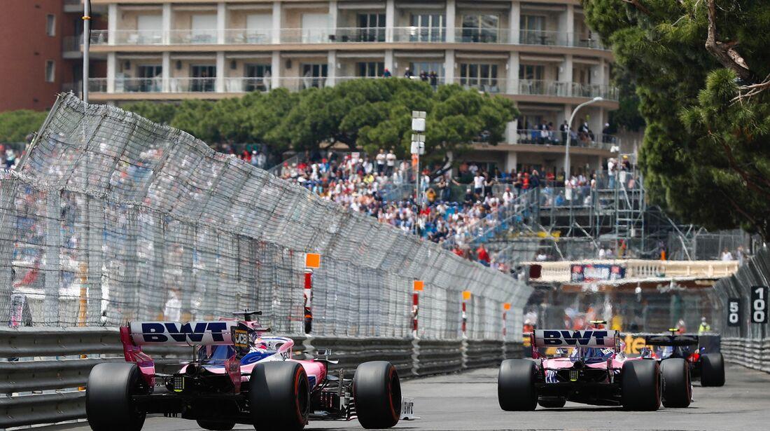 Racing Point - Formel 1 - GP Monaco - 25. Mai 2019