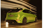 Raeder-Ford Focus RS, Aerodynamik, Windkanal