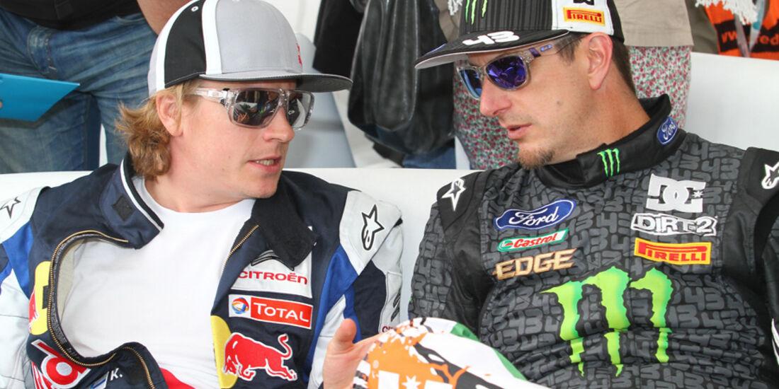 Räikkönen Block WRC 2010
