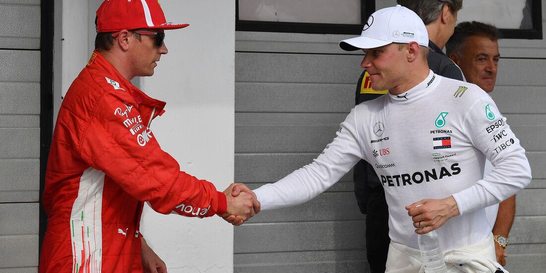 Räikkönen & Bottas - GP Italien 2018