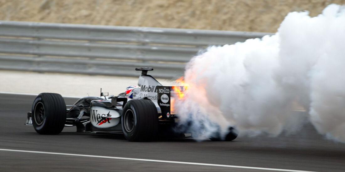 Räikkönen GP Bahrain 2004