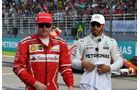 Räikkönen & Hamilton - Formel 1 - GP Malaysia - Sepang - 30. September 2017