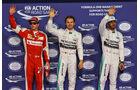 Räikkönen, Rosberg & Hamilton - GP Abu Dhabi - 28. November 2015