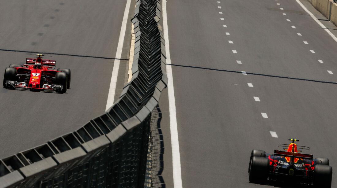 Räikkönen - Verstappen - Formel 1 - GP Aserbaidschan 2017 - Training - Freitag - 23.6.2017