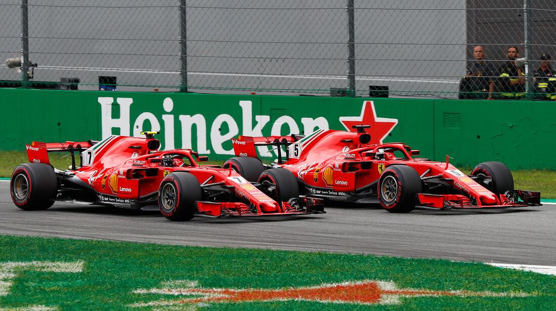 Räikkönen & Vettel - GP Italien 2018