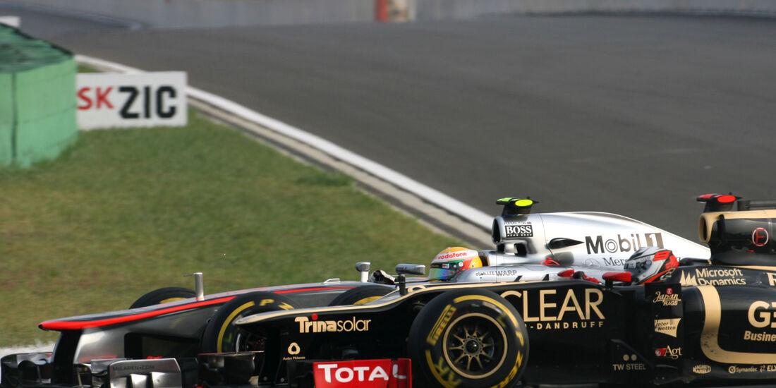 Räikkönen vs. Hamilton GP Korea 2012