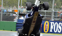 Ralf Schumacher Crash