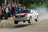 Ralley, Audi Quattro