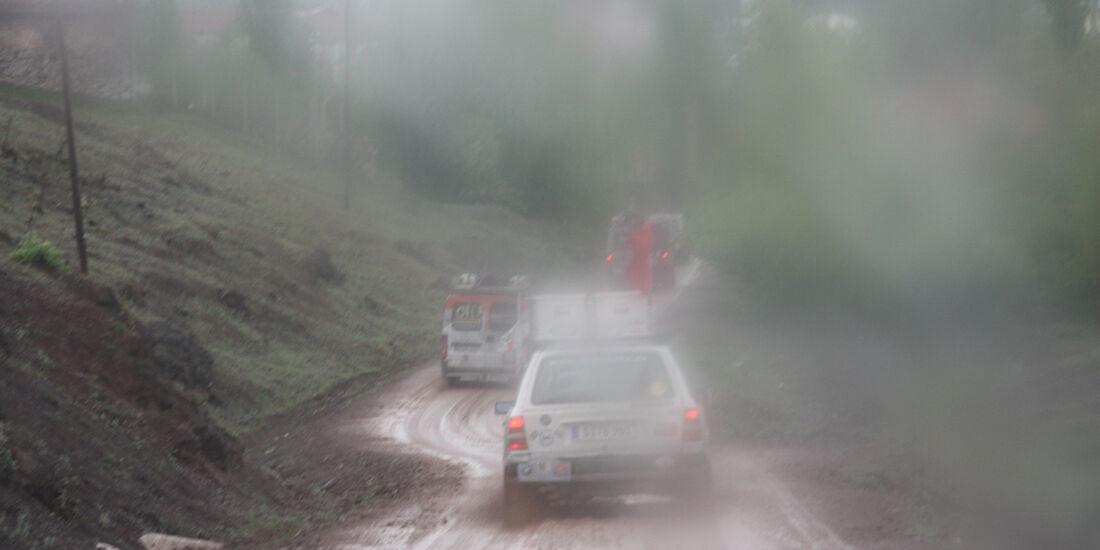 Rallye Allgäu-Orient, Regenfahrt