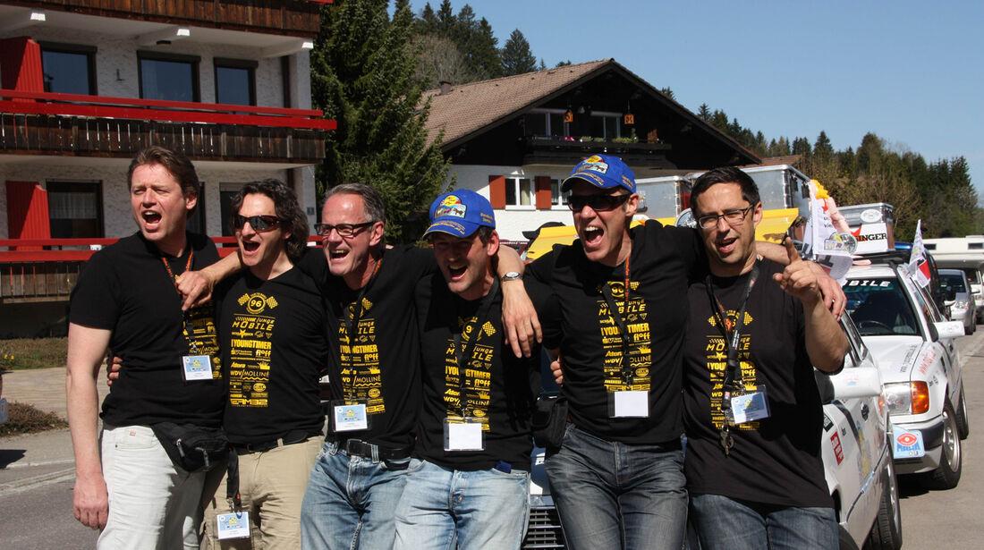 Rallye Allgäu-Orient, Team, Start