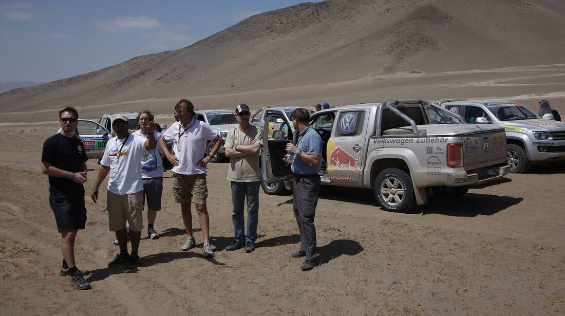 Rallye Dakar 2011, VW Amarok
