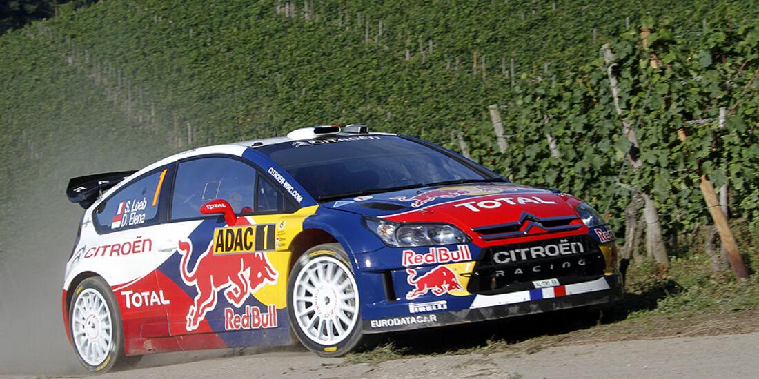 Rallye Deutschland 2010, Citroen C4 WRC, Loeb
