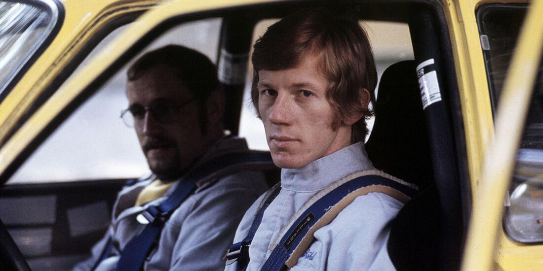 Rallye Europameister der Saison 1974, Walter Röhrl und Jochen Berger