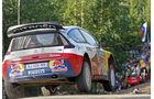 Rallye Finnland 2010, Loeb, Citroen C4 WRC, Sprung