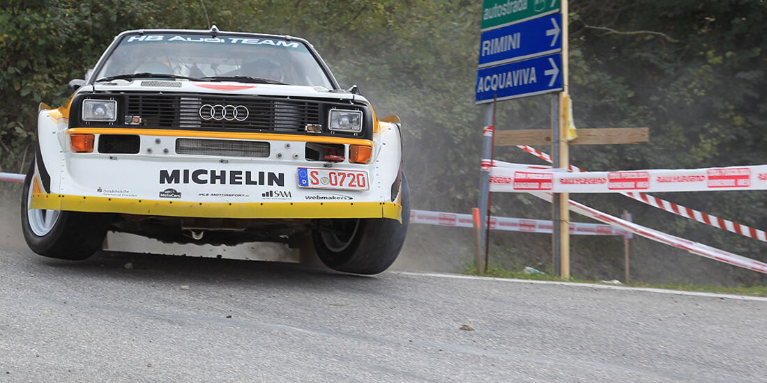 Rallye Legends, San Marino, Audi S1 quattro