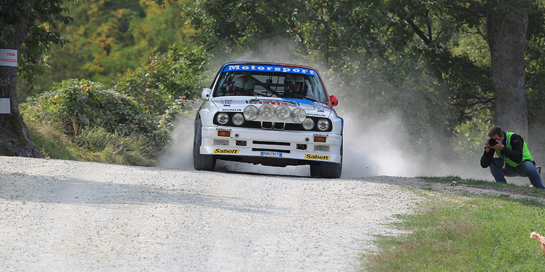 Rallye Legends, San Marino, BMW M3, E30