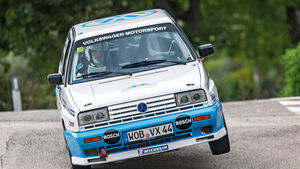 Rallye Legends, VW Polo G60, Bernd Ostmann, Frank Christian