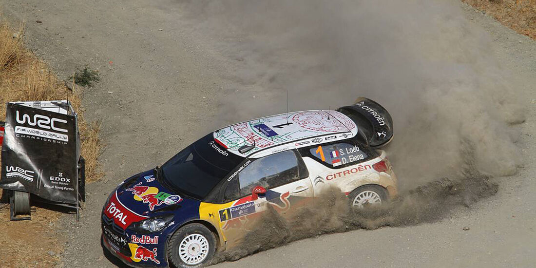 Rallye Mexiko 2011, Loeb, Citroen DS3 WRC